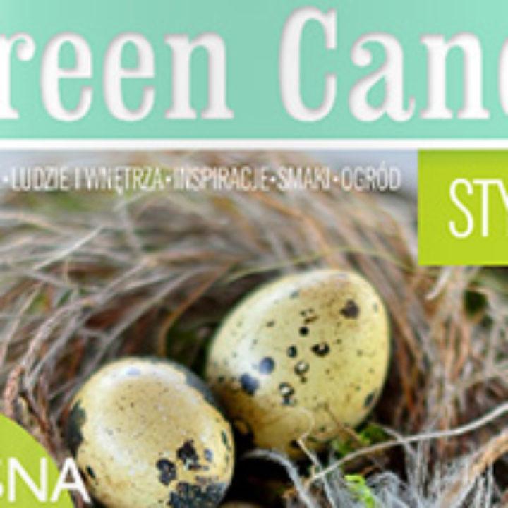 Zielony Kot w wiosennym wydaniu Green Canoe
