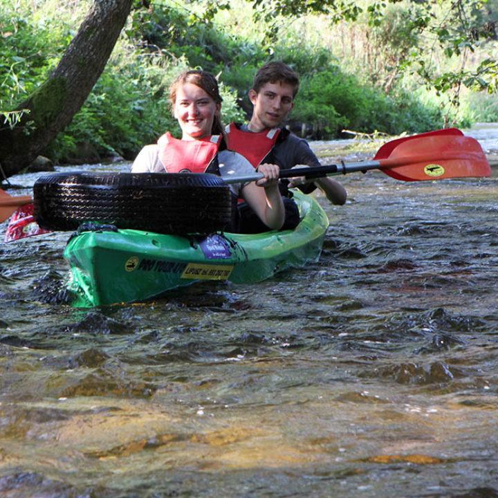 Porządkowy spływ kajakowy rzeką Wda